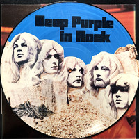 Deep Purple : In Rock -picture disc-