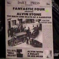 Fantastic Four: Alvin stone - birth & death of a gangster