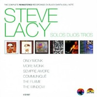 Lacy, Steve: Complete remastered recordings on Black Saint & Soul Note