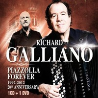 Galliano, Richard: Piazzolla Forever 20th Anniversary -CD+DVD-