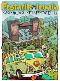 Roisto Oy: Festarikalevala - käsikirjasi kesäfestareille