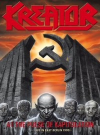 Kreator: At the pulse of kapitulation - live in east Berlin 1990 - dvd+cd