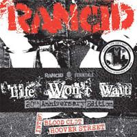 "Rancid: Life won't wait (Rancid essentials 6x7"" pack)"