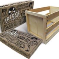 Tarvike: Puinen vinyylilaari / Wooden vinyl crate
