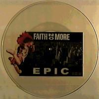 Faith No More: Epic -UNCUT SHAPED PICTURE DISC-