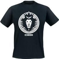 Cheek: Leijona t-paita musta