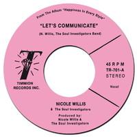 Willis, Nicole: Let's Communicate / Instrumental