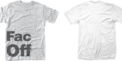 Factory 251: Fac off (white)