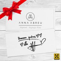 Abreu, Anna / Lahjakortti : Anna Abreu lahjakortti
