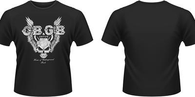 CBGB: Skull wings