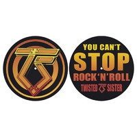 Twisted Sister: You Can't Stop Rock 'n' Roll -slipmat