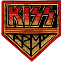 Kiss: Kiss Army Badge