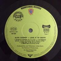 Cooper, Alice: Love It To Death