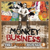 "V/A: Monkey Business: The 7"" Vinyl Box Set Monkey Business"