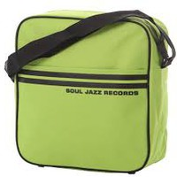 "Souljazz: Sage green/black 12"" bag"