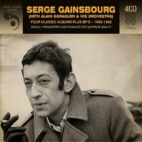 Gainsbourg, Serge: Four Classic Albums + Ep's 1958-1962