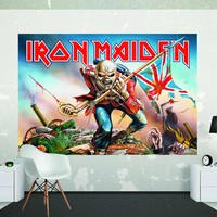 Iron Maiden: Wall mural (1.58 x 2.32m)