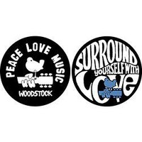 Woodstock: Peace Love Music -Slipmat