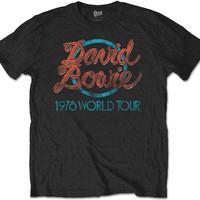 Bowie, David: 1978 World Tour
