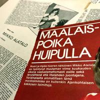 Alatalo, Mikko: Maalaispoika oon