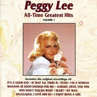 Lee, Peggy: All Time Greatest Hits