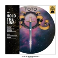 Toto: Hold the line /alone -picture vinyl