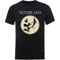 Disney: Peter pan moon silhouettes
