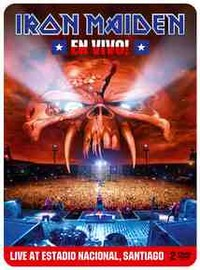 Iron Maiden: En vivo! - Live at estadio nacional, Santiago -limited edition steelbook
