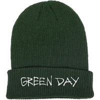Green Day: Label flip beanie