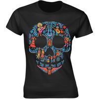 Disney: Coco skull pattern