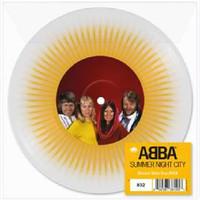 """ABBA: Summer night city (rsd clear/yellow splatter 7"""")"""