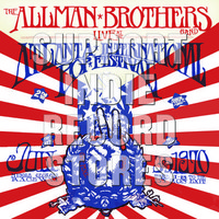 Allman Brothers: Live at the atlanta pop festival,july 3&5 ,1970 -first time on vinyl, numbered
