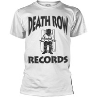 Death Row Records: Logo (white)