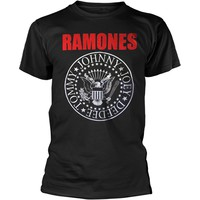 Ramones: Red text seal logo