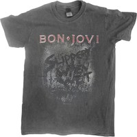 Bon Jovi: Slippery when wet (vintage wash)