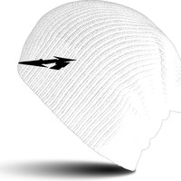 Metallica: Glitch m circle - white (beanie)