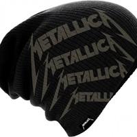 Metallica: Repeat logo (beanie)