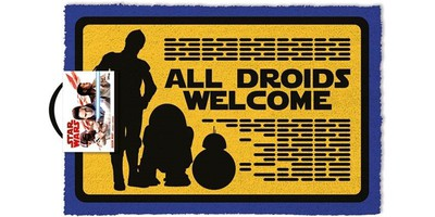Movie: All Droids Welcome (Doormat)