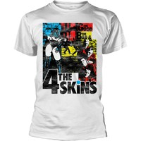 4 Skins: The good the bad & the 4 skins (white)