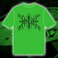 Demilich: Logo electric green