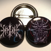 Demilich: Logo and Adversary buttons