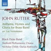 Rutter, John: Anthems, hymns, & gloria for brass band