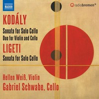 Weiss, Hellen: Sonata for cello solo; duo for violin & cello; sonata for solo cello