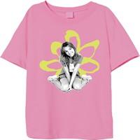 Spears, Britney: Britney sitting flower (pink)
